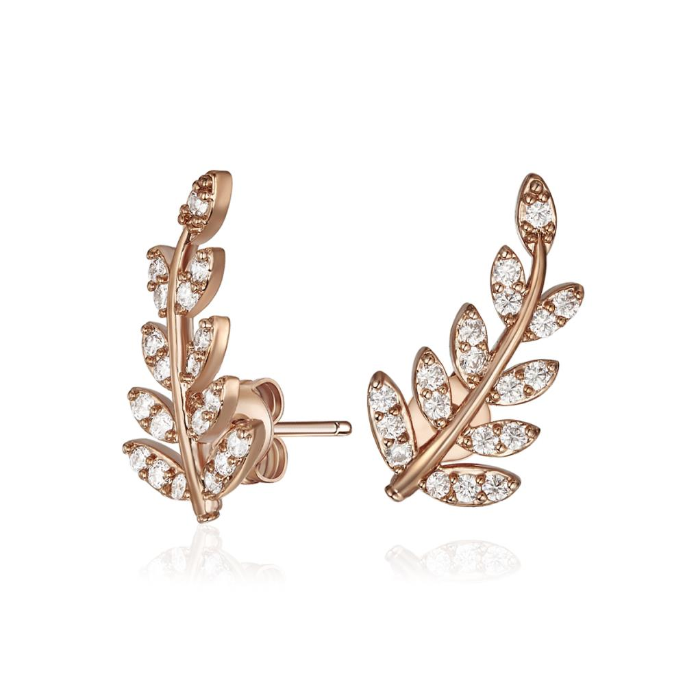 Rose Gold Autumn Earrings