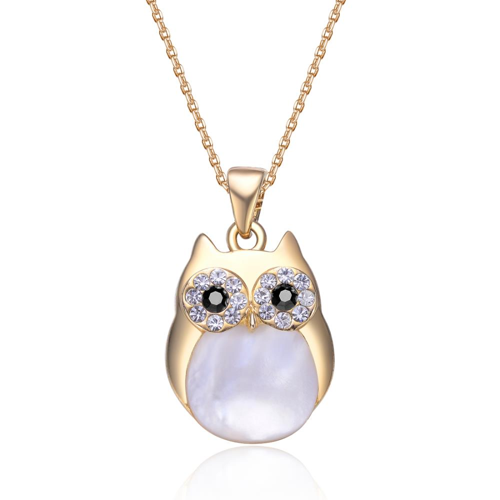 Professor Owl Charm Necklace