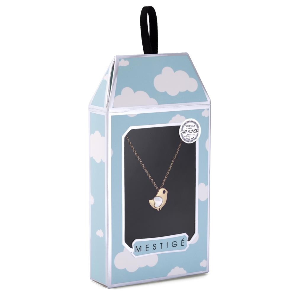 Away with the Clouds Gold Dove Necklace