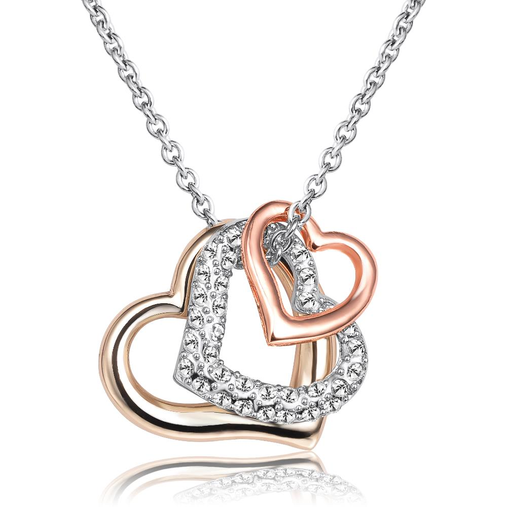 L'Amour Crystal Necklace