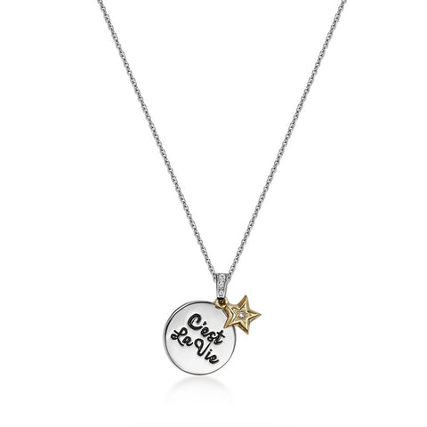 Cest La Vie Dual Necklace