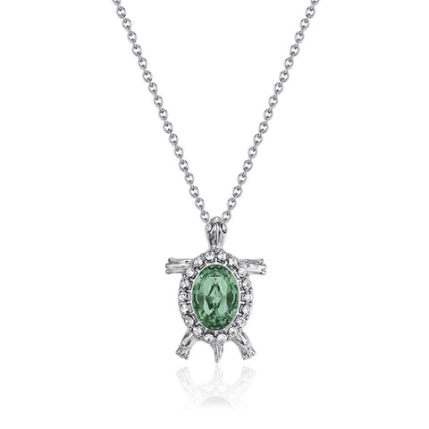 Emerald Sea Turtle Necklace