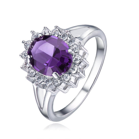 Amethyst Windsor Ring