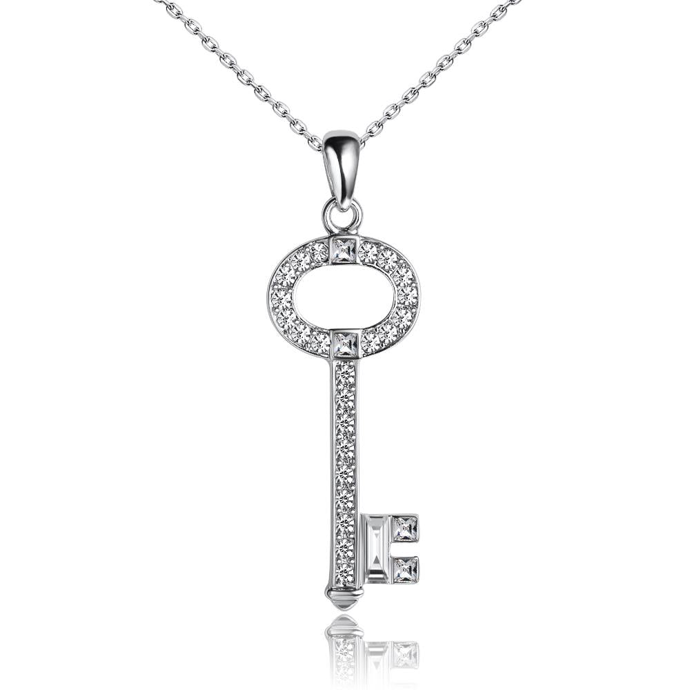 Secret Story Key Necklace