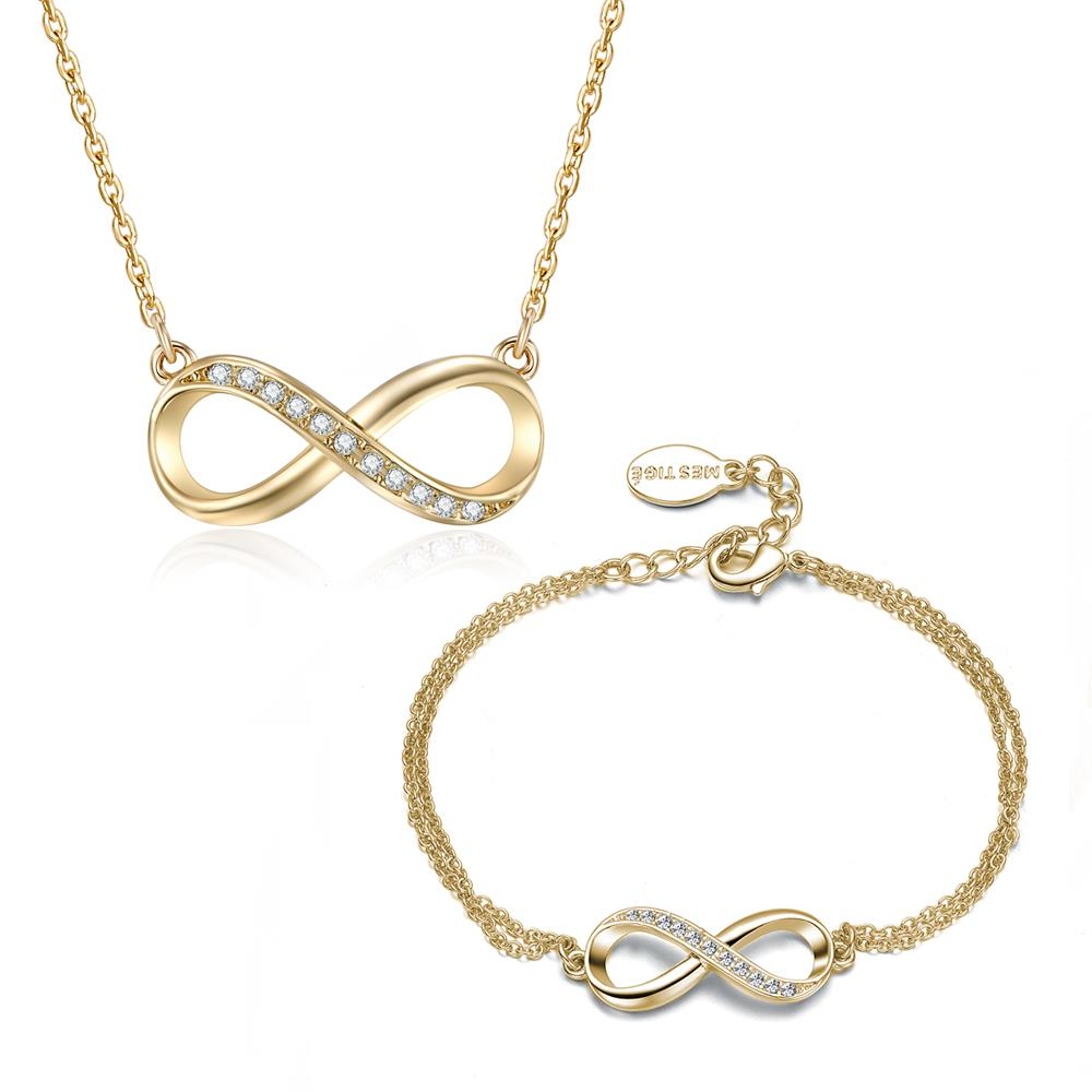 Infinitely Yours Set In Gold