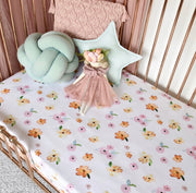 Poppy Cot Fitted Sheet
