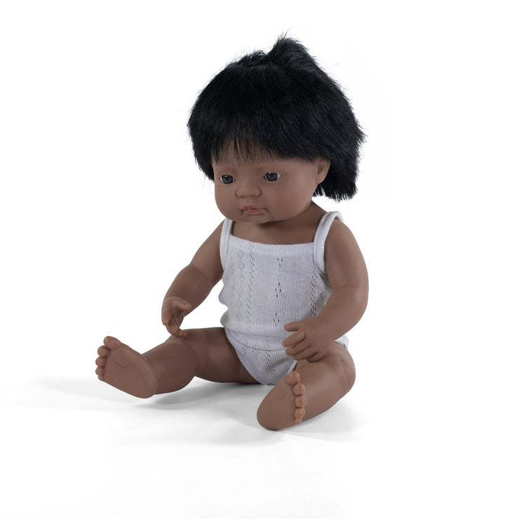 Miniland Doll Hispanic Boy 38cm