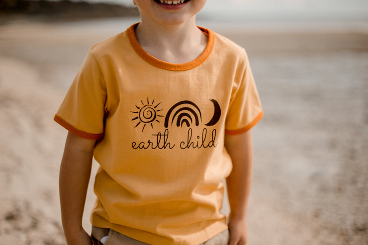 Earth Child Ringer Tee