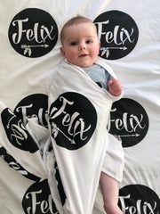 Personalised Baby Wrap