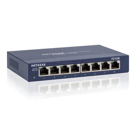 Netgear 8-Port 10/100Mbps Fast Ethernet