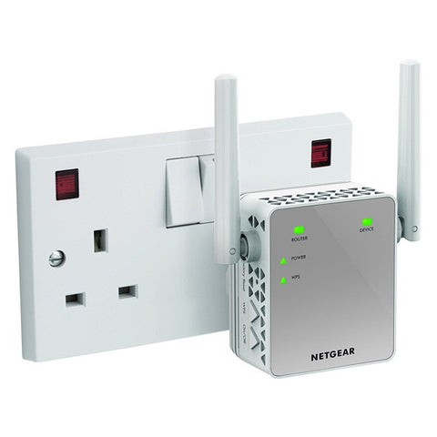 Netgear AC750 WiFi Range Extender - Essentials Edition