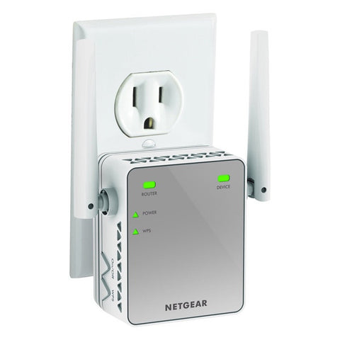 Netgear N300 WiFi Range Extender - Essentials Edition
