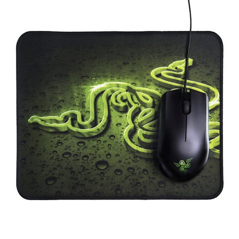 Razer Abyssus Gaming Mouse + Goliathus Speed Edition (Mouse Mat Bundle)