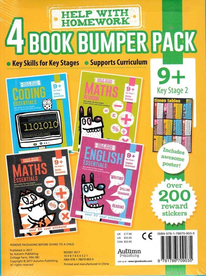 Help with Homework, 4 Book Pack - Stage 2 (9+) - HPH Publishing