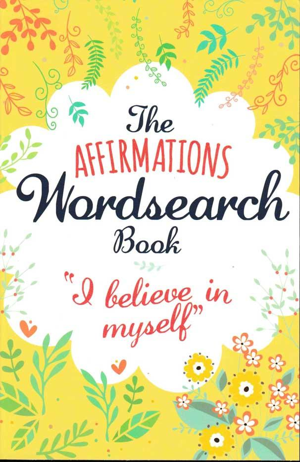 The Affirmations Wordsearch Book - Yellow - HPH Publishing