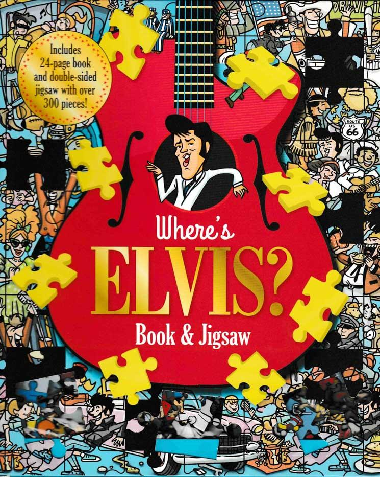 Where's Elvis - Book and Jigsaw Puzzle - HPH Publishing