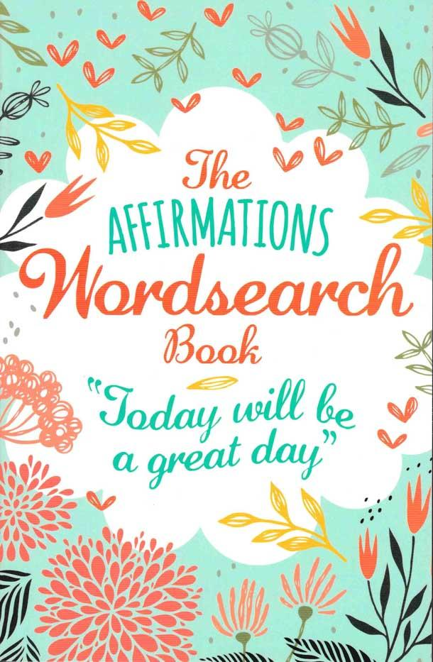 The Affirmations Wordsearch - Blue - HPH Publishing