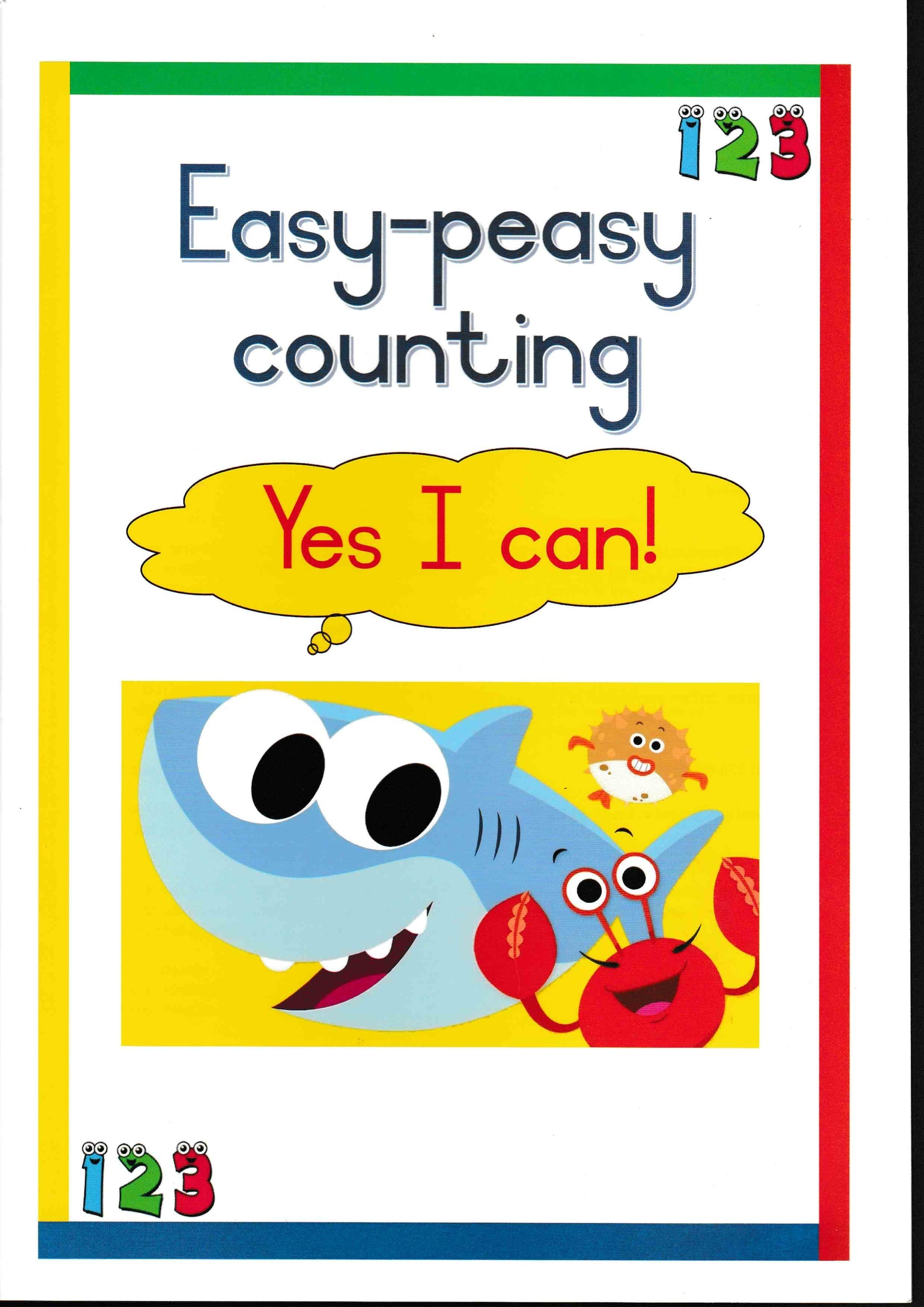 Yes I Can - Easy-Peasy Counting - HPH Publishing