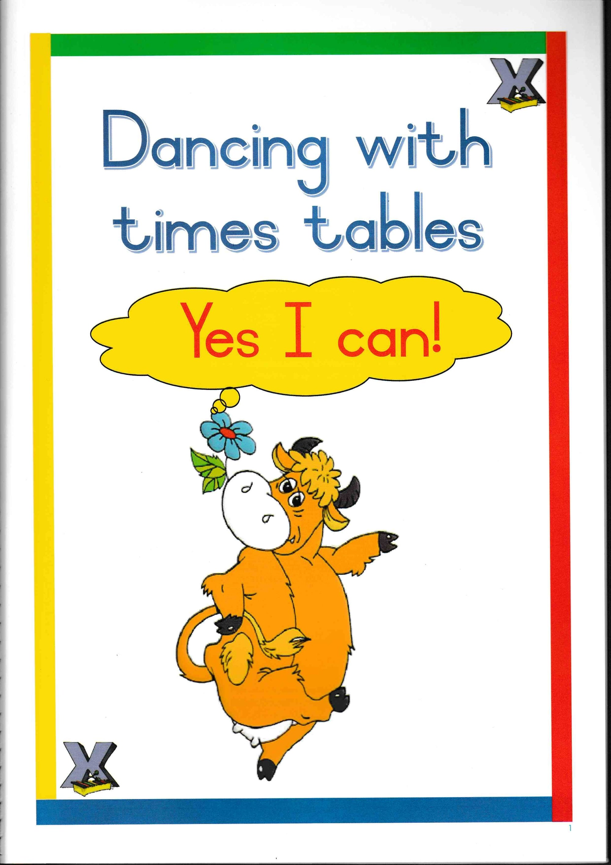 Yes I Can - Dancing with Times Tables - HPH Publishing