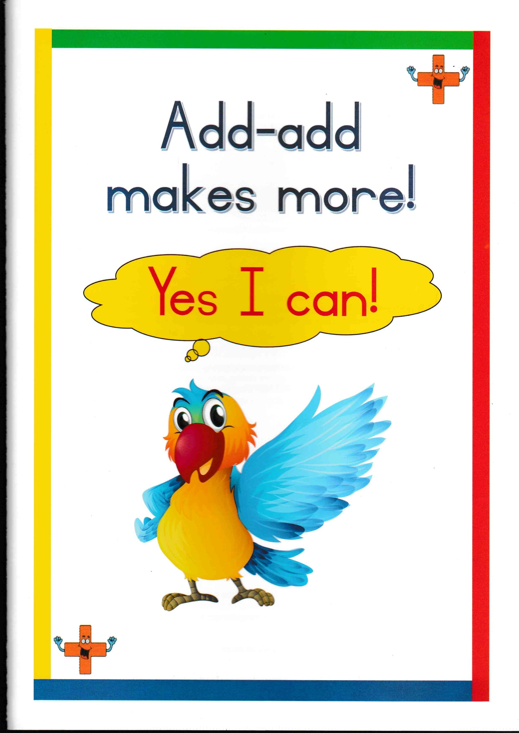 Yes I Can - Add-Add Makes More - HPH Publishing