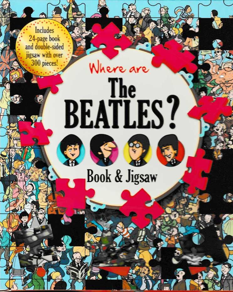 Where are the Beatles? Book and Jigsaw Puzzle - HPH Publishing