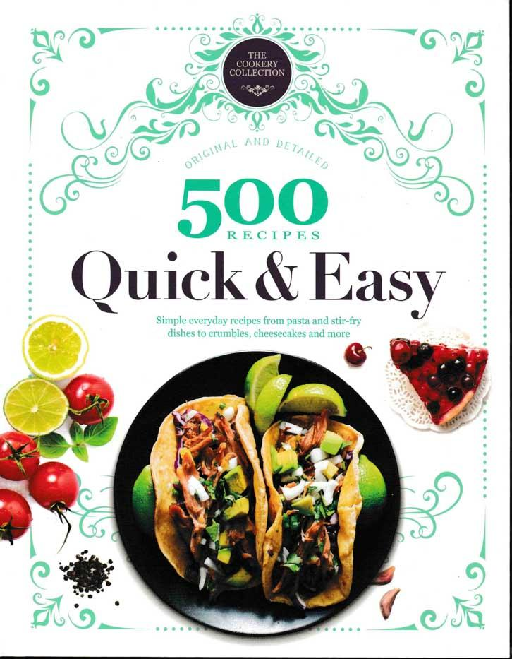 500 Recipes -Quick and Easy - HPH Publishing