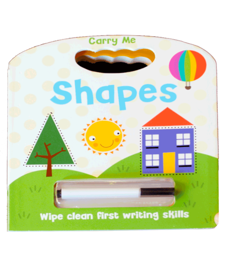 Wipe Clean Shapes - HPH Publishing