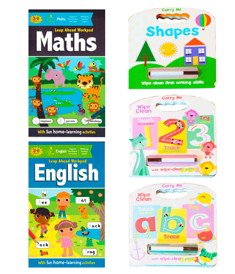 Educational Bundle for 3 - 5-year-olds