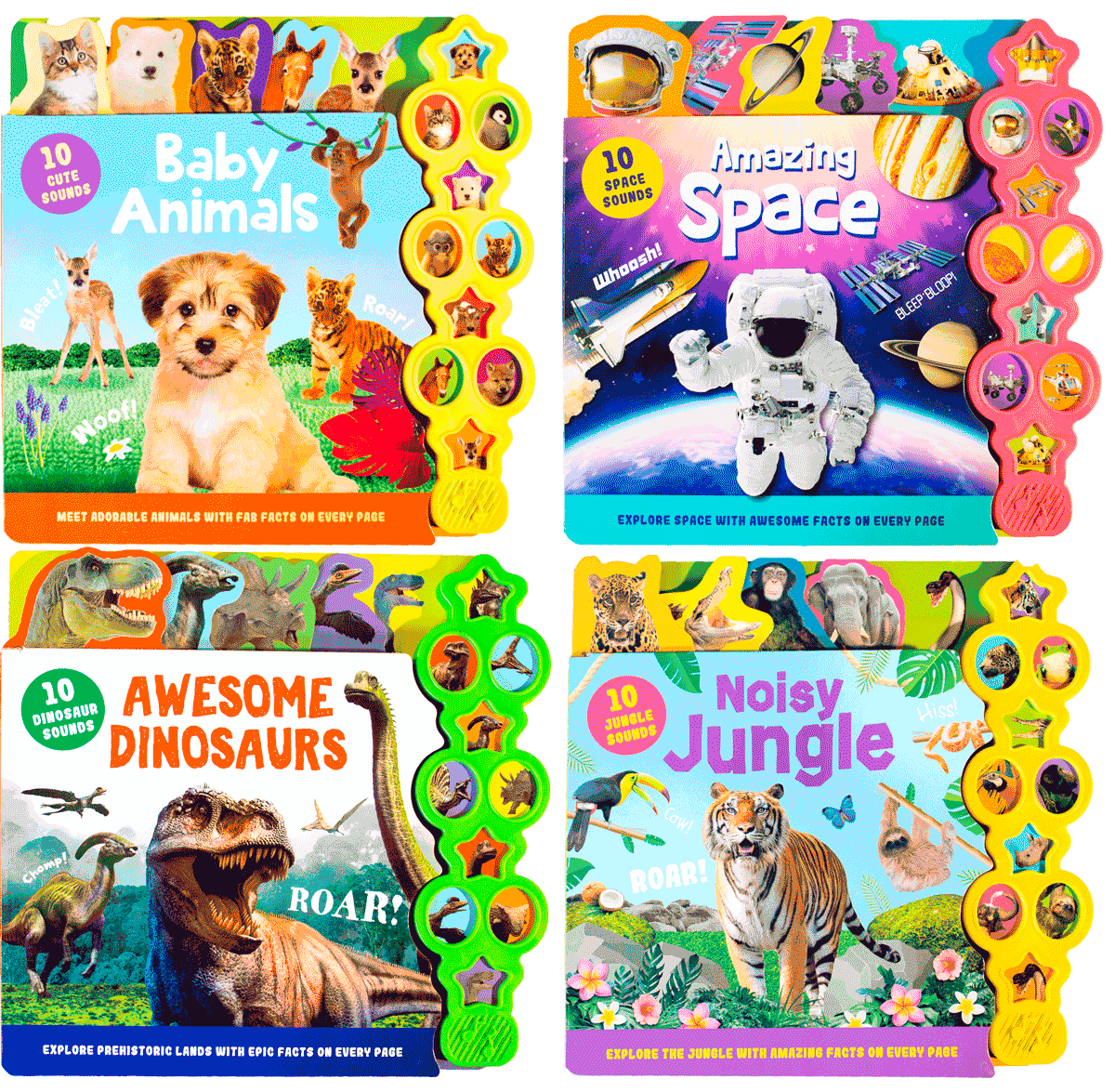 Noisy Toddlers 4 Book Bundle