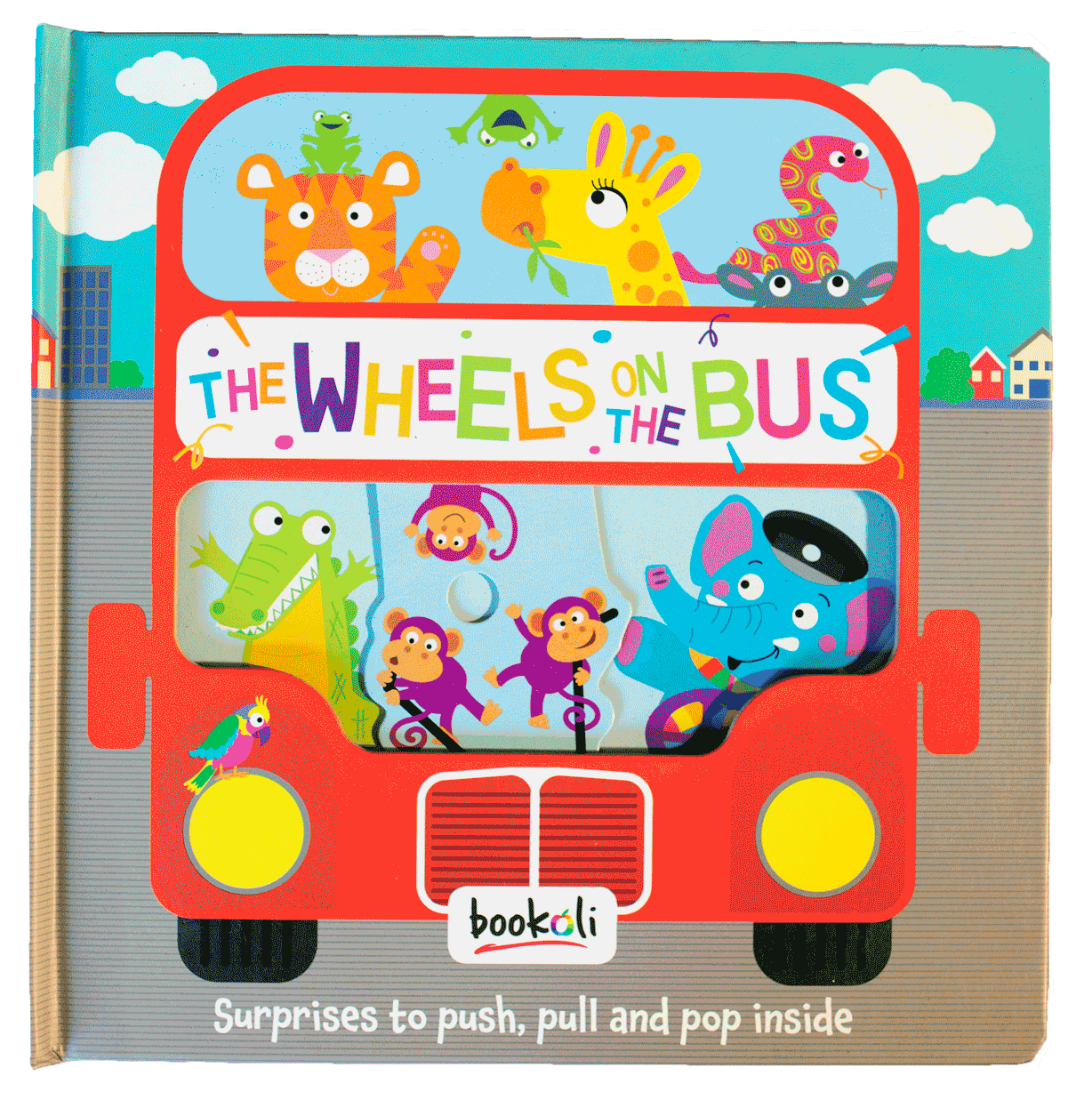 The Wheels on the Bus - Push, Pull, Pop