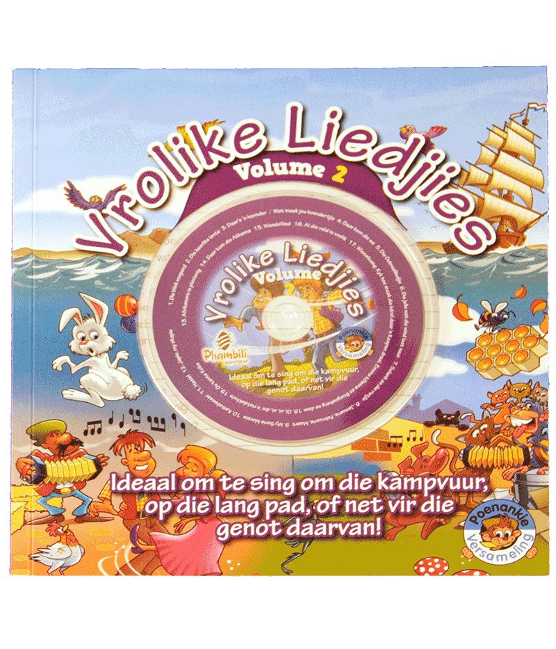 Vrolike Liedjies 2 With CD - HPH Publishing