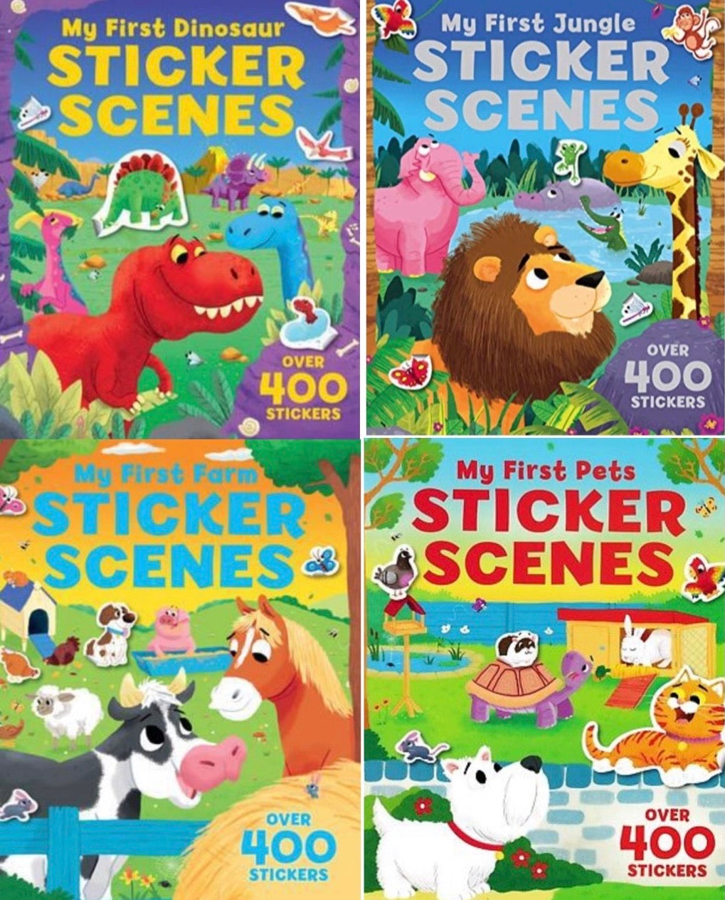 Sticker Scenes Bundle