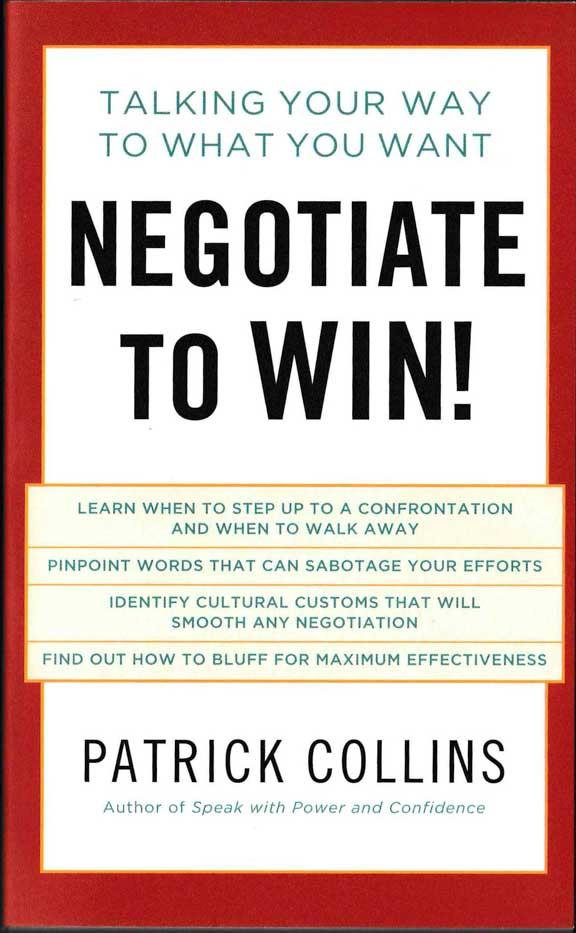 Negotiate to Win! - HPH Publishing