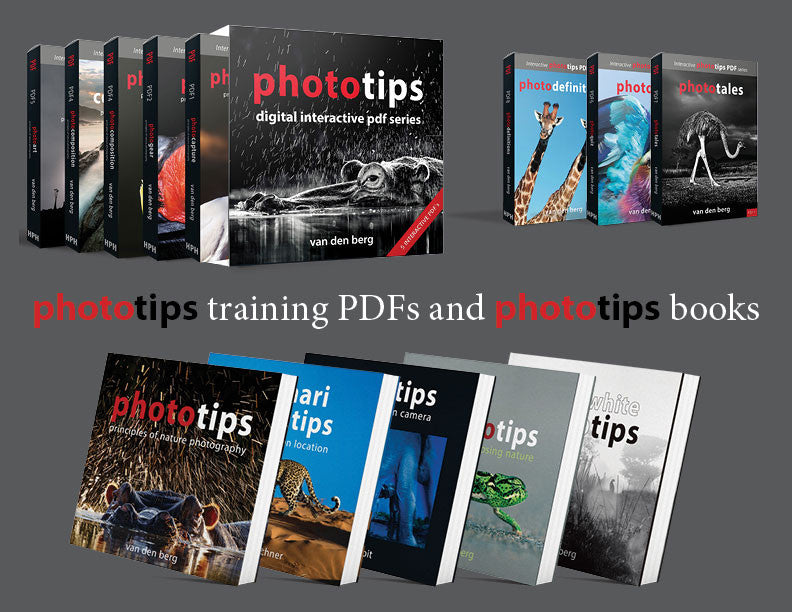 Order PhotoTips Training PDF's and PhotoTips Books