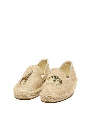 Soludos Giraffe Smoking Slipper