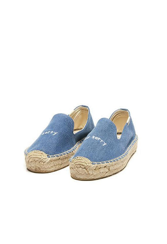 Soludos Sorry Platform Smoking Slipper