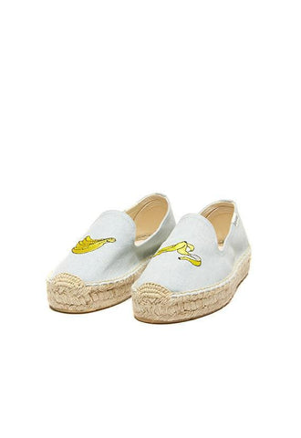 Soludos Banana Platform Smoking Slipper