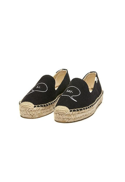 Soludos Hi Platform Smoking Slipper