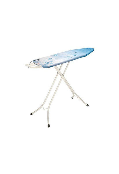 Brabantia Size S Ironing Board w/Steam Iron Rest -Ice water