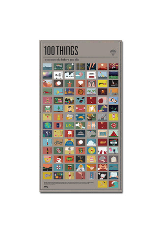 DOIY 100 Things You Must Do Before You Die Poster