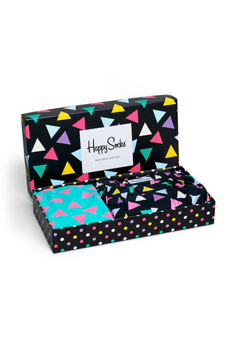 Happy Socks Triangle Boxer Combo Box