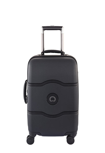 Delsey Chatelet 4 Wheels Luggage, Black