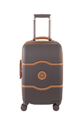Delsey Chatelet 4 Wheels Luggage, Chocolate
