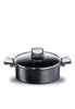 Tefal Expertise Shallow Pan With Lid, 26Cm