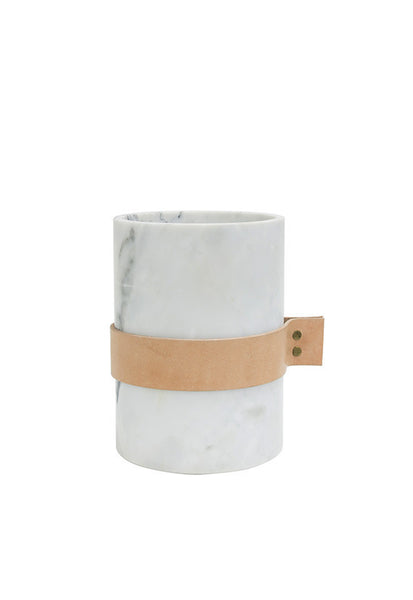 Robinsons White Marble Collection, Cylinder Vase