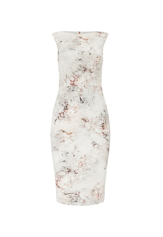Phase Eight Devika Marble Print Dress