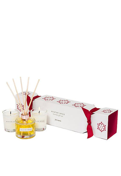 John Lewis Winter Spice Cracker Gift Set