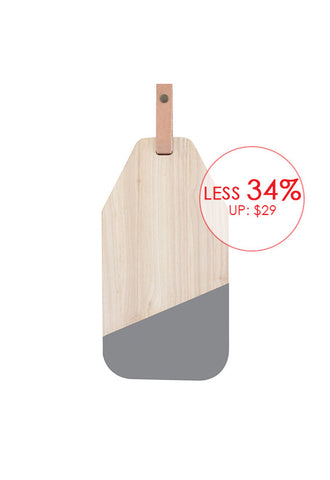 Robinsons Cheese Board with Leather Strap