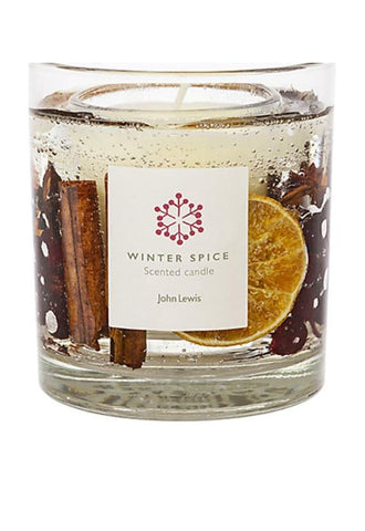 John Lewis Winter Spice Gel Candle