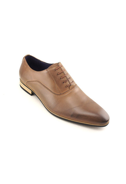 Rad Russel Dress Oxford, </br>Brown